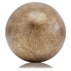 Modern Day Accents Hilos LG Brown Sphere/5in