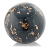 Modern Day Accents Hueso Negro Golden Bone Sphere