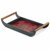 Modern Day Accents Rafaga Colorburst Handled Tray