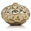 Abollado LG Squat Gold Vase