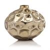 Abollado SM Squat Gold Vase