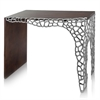 Modern Day Accents OM Colmena Honeycomb Console Table