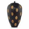 Modern Day Accents Hoyo Tall 2-Tone Jar with Cover