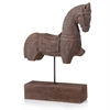 Modern Day Accents Siglo Trojan Horse on Stand