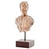 Modern Day Accents Cincel Chiseled Bust on Stand