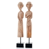 Modern Day Accents Museo African Museum Figures - Set of 2