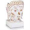 Reliquia Ceramic Buddha Bust