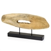 Modern Day Accents Tronco Largo Sliced Log on Stand