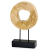 Modern Day Accents Tronco Ronda Sliced Log on Stand