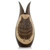 Modern Day Accents Buho Wood Owl Vase