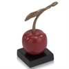 Modern Day Accents Cereza Stem Cherry Sculpture