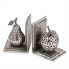 Modern Day Accents Hoyuelos Apple & Pear Bookends - Pair