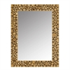 Modern Day Accents Ramita Teak Wall Mirror - 28in x 36in