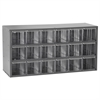 17-Series Steel Cabinet 18 Drawers, Gray