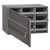 19-Series Steel Cabinet 9 Drawers, Gray