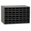 Akro-Mils 19-Series Steel Cabinet w/ 28 Drawers, Black