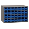 19-Series Steel Cabinet w/ 28 Drawers, Blue