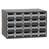 Akro-Mils 19-Series Steel Cabinet 20 Drawers, Gray