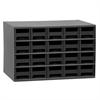19-Series Steel Cabinet w/ 20 Drawers, Black