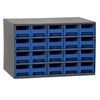 19-Series Steel Cabinet w/ 20 Drawers, Blue