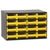 Steel Cabinet w/ 16 Drawers, Yell, Yellow