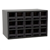 19-Series Steel Cabinet w/ 15 Drawers, Black
