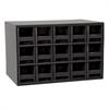 Akro-Mils 19-Series Steel Cabinet w/ 15 Drawers, Black