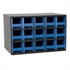 19-Series Steel Cabinet w/ 15 Drawers, Blue