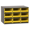 Akro-Mils 19-Series Steel Cabinet w/ 9 Drawers, Yellow
