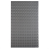Akro-Mils Louvered Wall Panel, 36 x 61, Gray, Gray