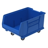 Mobile Super Size Akro Bin, Blue, Blue