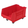 Mobile Super Size Akro Bin, Red, Red