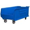 Akro-Mils Mobile Super Size AkroBin, Blue, Blue