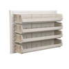 ReadySpace Wall Rack w/4 AkroBins 30320, White