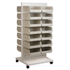 ReadySpace Flr Unt w/30 AkroBins, 30235, White