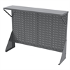 Low Profile Flr Rack Shelf for AkroBins, Gray