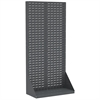Heavy-Duty Louvered Floor Rack 1-Sided, Gray