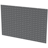 Louvered Wall Panel 52 x 34-1/8, Gray