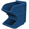 Akro-Mils Easy Flow Gravity Hopper, w/ Divider, Blue