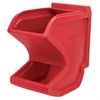 Easy Flow Gravity Hopper, Red, Red