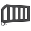 Plastic Shelf Divider 6 Pk, 12, Black