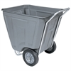 Akro-Cart 60 Gal, 30-1/2 x 48 x 33-1/2, Gray