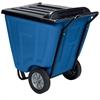 Akro-Cart w/Lid 60 Gal, Blue