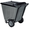 Akro-Cart w/Lid 60 Gal, Gray