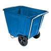 Akro-Cart 90 Gal, 30-1/2 x 47 x 39-1/2, Blue