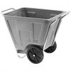 Akro-Cart 90 Gal, 30-1/2 x 47 x 39-1/2, Gray