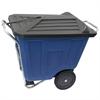 Akro-Cart w/Lid 90 Gal, Blue