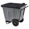 Akro-Cart w/Lid 90 Gal, Gray