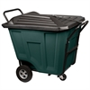 Akro-Cart w/Lid HD 90 Gal, Green