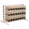 ReadySpace Bnch Unt, 2-Sided w/96 Bins, White